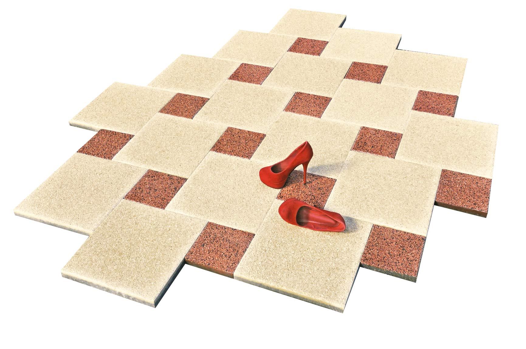 Vymývaná dlažba 40x40 Split, 19,5x19,5 Sicilia