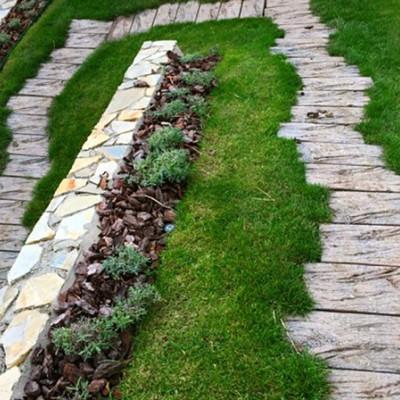 Dřevěný program - Pražec B, hrubý reliéf