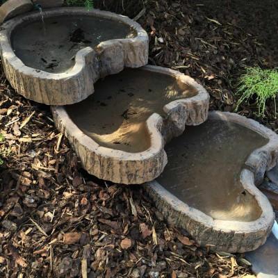Dřevený program - kaskádové kameny