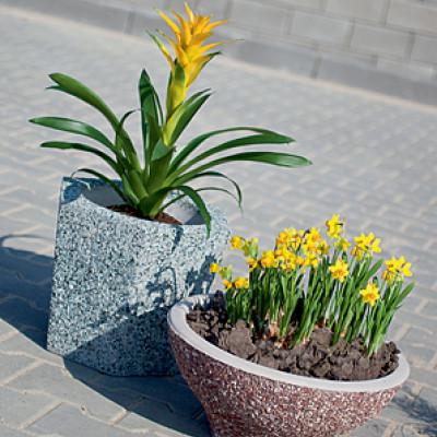 Květináč Lotos Livorno, Květináč Apolena Marrone