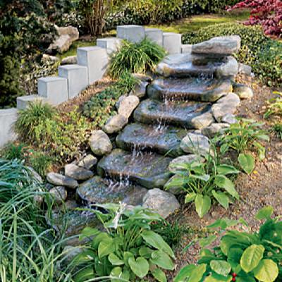 Kaskádové kameny, přírodní